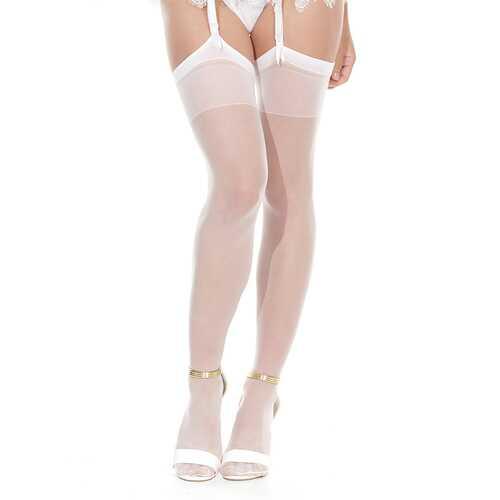 Coquette Stockings White OS
