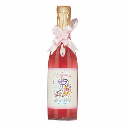 Pink Champagne Straw Bubble Bath 12.2oz