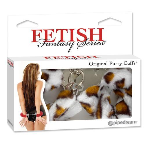 FF Original Furry Cuffs Leopard