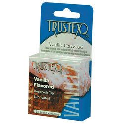 Trustex: Vanilla Condom 3pk