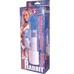 Rampant Rabbit Clit Stim. Vibe (Blue)