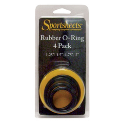 SS: O-Ring Assorted Sizes (4 )