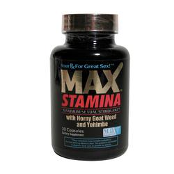 MaxStamina 30ct Bottle
