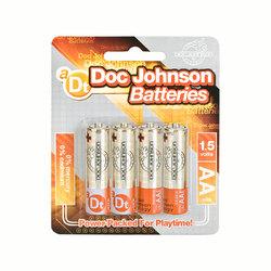 Doc Johnson AA Batteries (4)