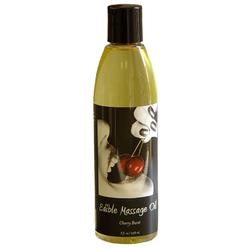 EB Edible Massage Oil 8oz Cherry