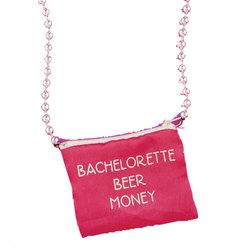 Bachelorette Beer Money Necklace