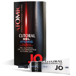 JO Clitoral Gel Warming Atomic 10cc