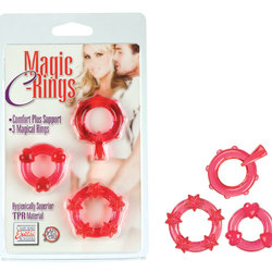 Magic C-Rings - Red