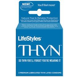 Lifestyles Thyn- Ultra Thin Condoms (3)