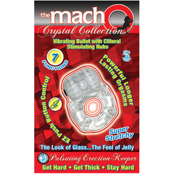 Macho Crystal Coll Erection Keeper (Clr)