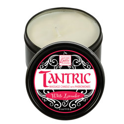 Tantric Mass Candle w/Pher Wht Lavender