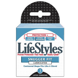 LifeStyles Snugger Fit (3pk)