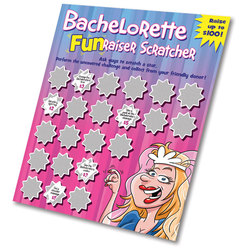 Bachelorette Fun Raiser scratcher