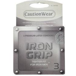 Iron Grip Condoms (3pk)
