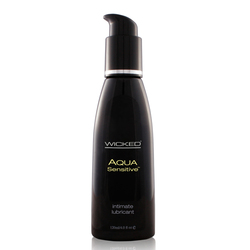 Wicked Aqua Sensitive Lubricant 4oz.
