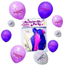 Bachelorette Party Ballons (12pc) Asst,
