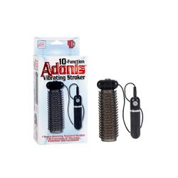 Adonis Vibrating Stroker Smoke 10 func