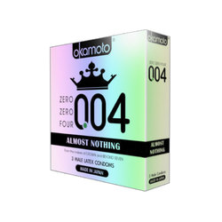 004 Almost Nothing Condom (3pk)