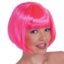 Wig Neon Bob Pink