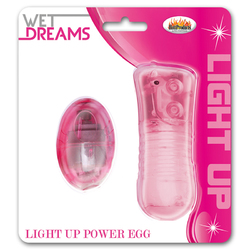 Wet Dreams Light Up Extreme Power Egg MF