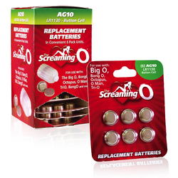 Screaming O AG-10 Batteries (12/Box)