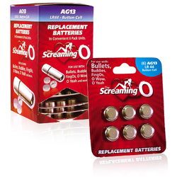 Screaming O AG-13 Batteries (12/Box)