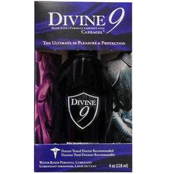 Divine 9 Waterbased Lubricant 4oz.