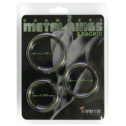 SI 3pk Metal Rings 2, 1.75 & 1.5in