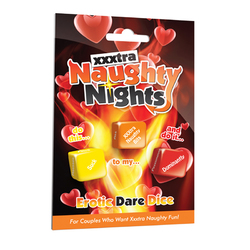 XXXtra Naughty Nights Erotic Dare Dice