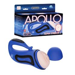 Apollo Alpha Stroker 2 - Blue