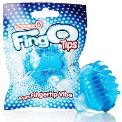 Screaming O FingO Tips Blue