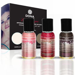 DONA Let Me Kiss You Massage Gift Set