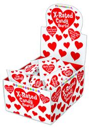 Unprinted Heart Shaped Candy (100/DP)