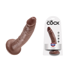King Cock - 7in Cock Brown