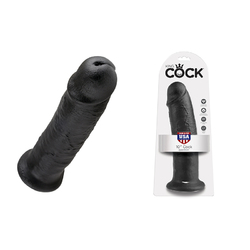 King Cock - 10in Cock Black
