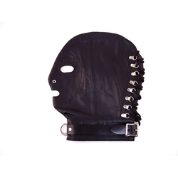 Rouge Mask w/D-Ring& Lockable Buckle Blk