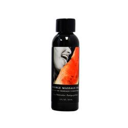 EB Edible Massage Oil Watermelon 2oz.