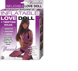 Inflatable Love Doll Mercedes (Brown)