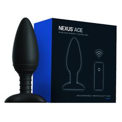 Nexus Ace Large RC Vibrating Butt Plug