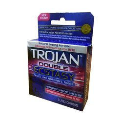 Trojan Double Ecstasy Latex Condoms (3)