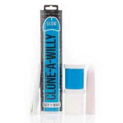 Clone-A-Willy Blue GITD