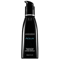 Wicked Aqua 8.5oz. Fragrance Free Lube
