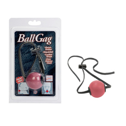 Ball Gag With Leather Straps