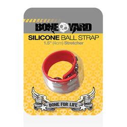 Boneyard Ball Strap Red