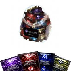 ID Assorted Condom Jar (114 condoms)