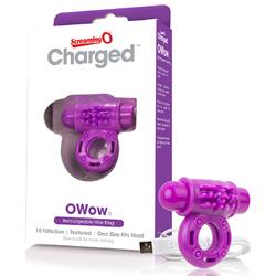 Screaming O Chgd OWow Vooom Purple