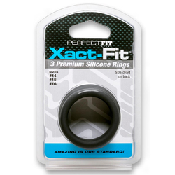 PF Xact-Fit Sili Rings #14, #15, #16 Blk