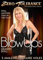 ZT Granny Blow Up Doll W/DVD