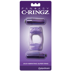 FCR - Duo-Vibrating Super Ring Purple