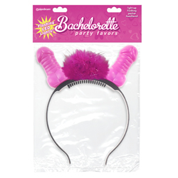 BP Flashing Light-Up Pecker Headband